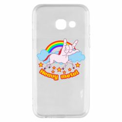 Чохол для Samsung A3 2017 Heavy metal unicorn