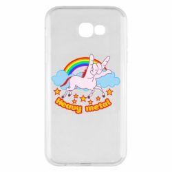 Чохол для Samsung A7 2017 Heavy metal unicorn