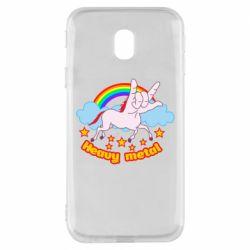 Чохол для Samsung J3 2017 Heavy metal unicorn
