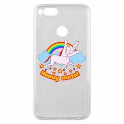 Чохол для Xiaomi Mi A1 Heavy metal unicorn