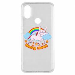 Чохол для Xiaomi Mi A2 Heavy metal unicorn