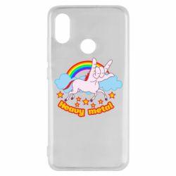 Чохол для Xiaomi Mi8 Heavy metal unicorn