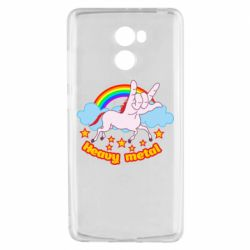 Чехол для Xiaomi Redmi 4 Heavy metal unicorn