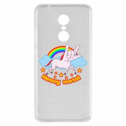 Чехол для Xiaomi Redmi 5 Heavy metal unicorn