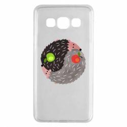 Чохол для Samsung A3 2015 Hedgehogs yin-yang