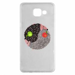 Чохол для Samsung A5 2016 Hedgehogs yin-yang