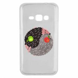 Чохол для Samsung J1 2016 Hedgehogs yin-yang