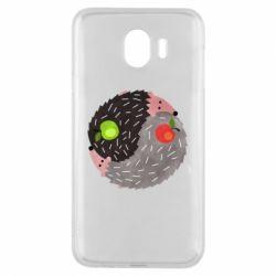 Чохол для Samsung J4 Hedgehogs yin-yang