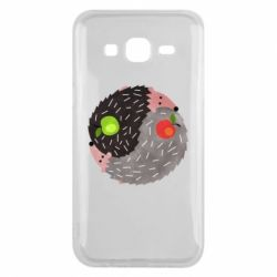 Чохол для Samsung J5 2015 Hedgehogs yin-yang