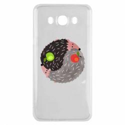 Чохол для Samsung J7 2016 Hedgehogs yin-yang