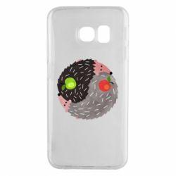 Чохол для Samsung S6 EDGE Hedgehogs yin-yang
