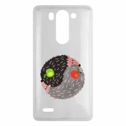 Чохол для LG G3 Mini/G3s Hedgehogs yin-yang - FatLine