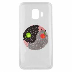 Чохол для Samsung J2 Core Hedgehogs yin-yang