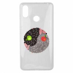 Чохол для Xiaomi Mi Max 3 Hedgehogs yin-yang