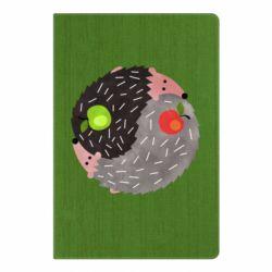 Блокнот А5 Hedgehogs yin-yang