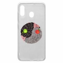 Чохол для Samsung A30 Hedgehogs yin-yang