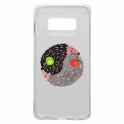 Чохол для Samsung S10e Hedgehogs yin-yang