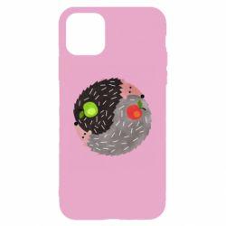 Чохол для iPhone 11 Hedgehogs yin-yang