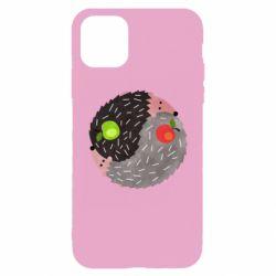 Чохол для iPhone 11 Pro Hedgehogs yin-yang