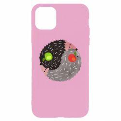 Чохол для iPhone 11 Pro Max Hedgehogs yin-yang