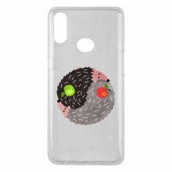 Чохол для Samsung A10s Hedgehogs yin-yang