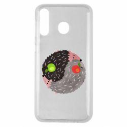 Чохол для Samsung M30 Hedgehogs yin-yang