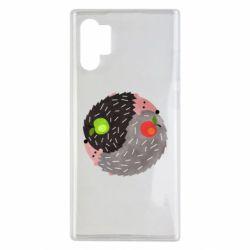 Чохол для Samsung Note 10 Plus Hedgehogs yin-yang