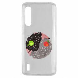 Чохол для Xiaomi Mi9 Lite Hedgehogs yin-yang