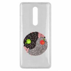 Чохол для Xiaomi Mi9T Hedgehogs yin-yang