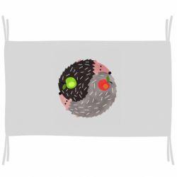 Прапор Hedgehogs yin-yang