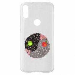 Чохол для Xiaomi Mi Play Hedgehogs yin-yang