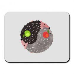 Килимок для миші Hedgehogs yin-yang
