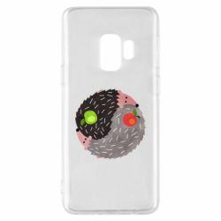 Чохол для Samsung S9 Hedgehogs yin-yang