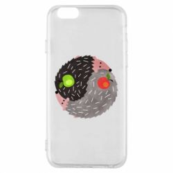 Чохол для iPhone 6/6S Hedgehogs yin-yang - FatLine