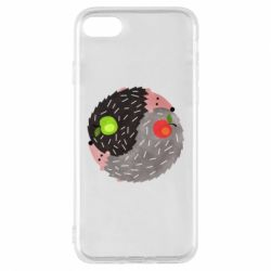 Чохол для iPhone 8 Hedgehogs yin-yang - FatLine