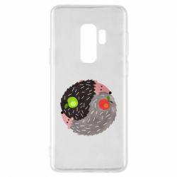 Чохол для Samsung S9+ Hedgehogs yin-yang