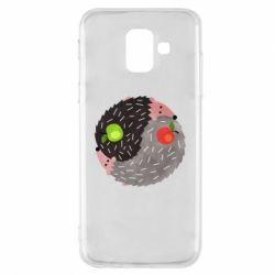 Чохол для Samsung A6 2018 Hedgehogs yin-yang