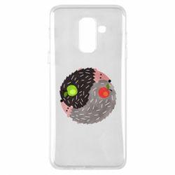 Чохол для Samsung A6+ 2018 Hedgehogs yin-yang