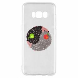 Чохол для Samsung S8 Hedgehogs yin-yang