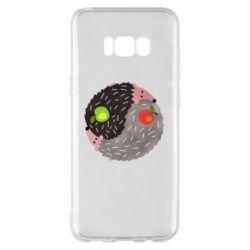 Чохол для Samsung S8+ Hedgehogs yin-yang