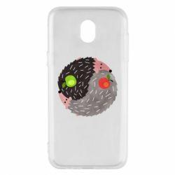 Чохол для Samsung J5 2017 Hedgehogs yin-yang