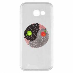 Чохол для Samsung A5 2017 Hedgehogs yin-yang