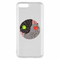 Чохол для Xiaomi Mi6 Hedgehogs yin-yang