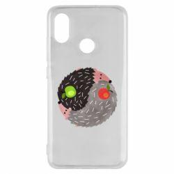 Чохол для Xiaomi Mi8 Hedgehogs yin-yang