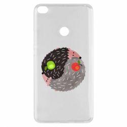Чохол для Xiaomi Mi Max 2 Hedgehogs yin-yang