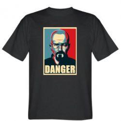 Мужская футболка Heisenberg Danger - FatLine