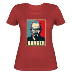 Женская футболка Heisenberg Danger