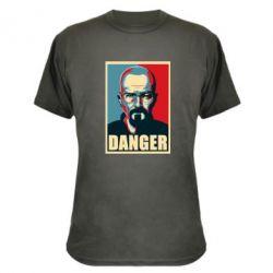 Камуфляжная футболка Heisenberg Danger - FatLine