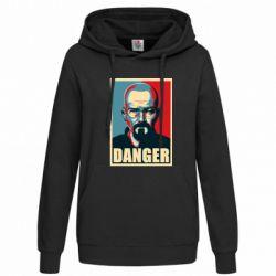 Женская толстовка Heisenberg Danger