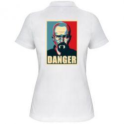 Женская футболка поло Heisenberg Danger - FatLine